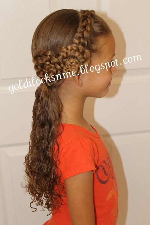 Long Hair Easy Cute Hairstyles For Little Girls 23