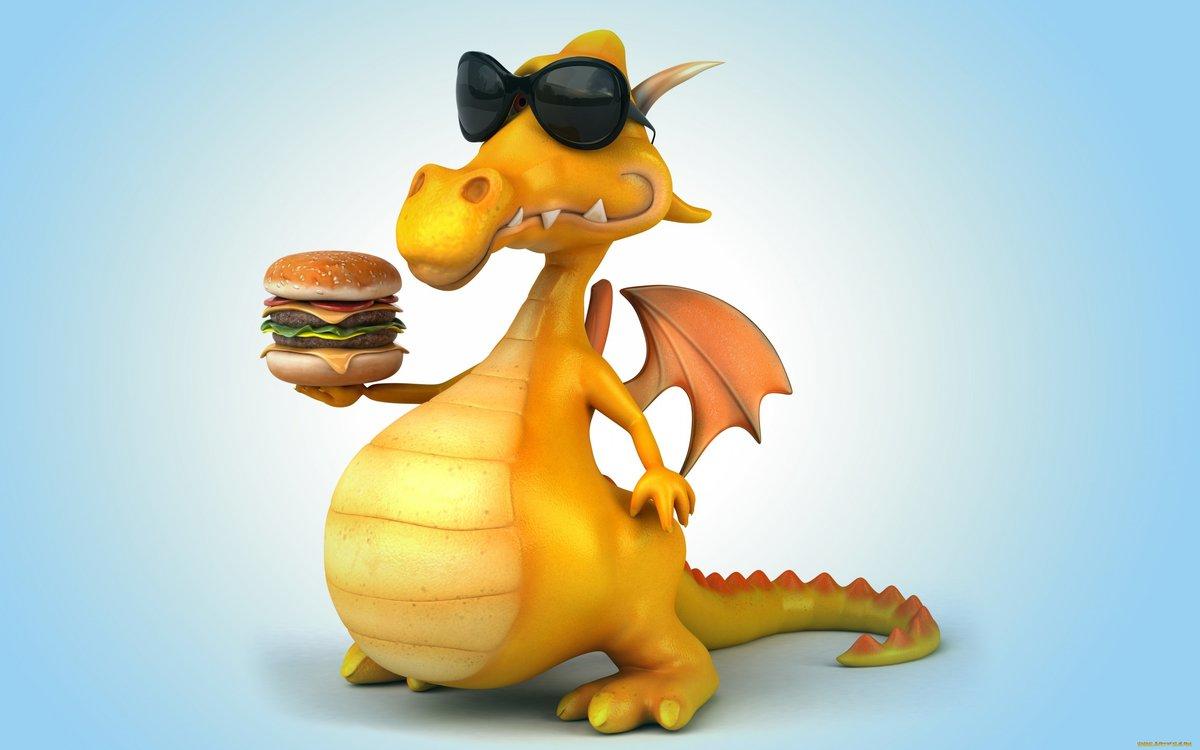 Смешные картинки дракончиками