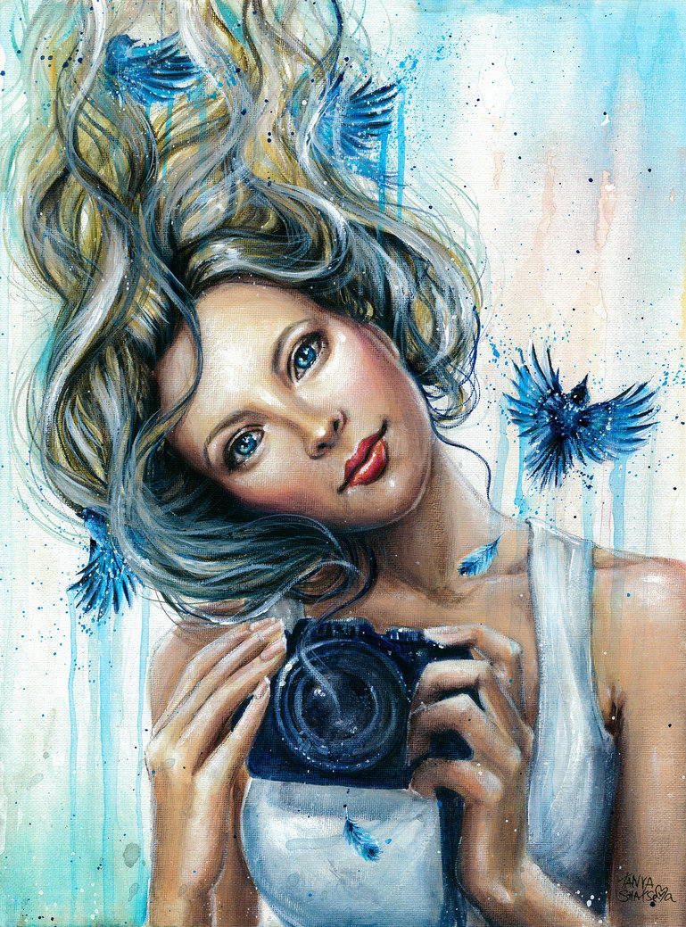 Картинки, картинки нарисованные девушки