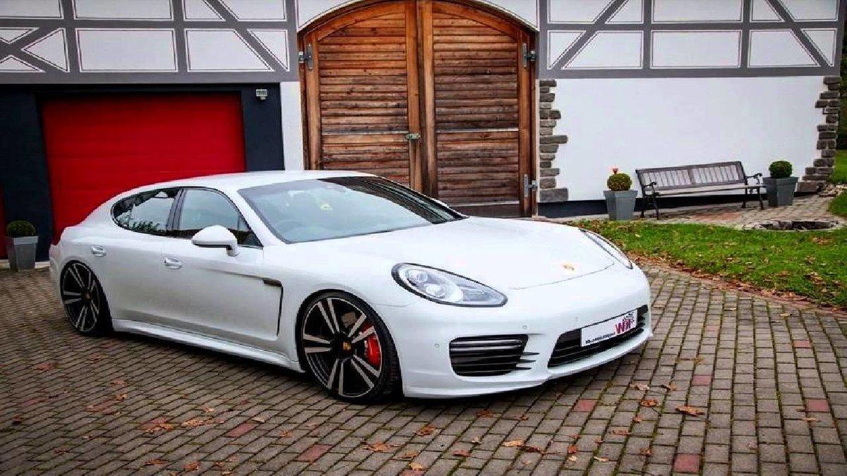 Porsche panamera 2015 white