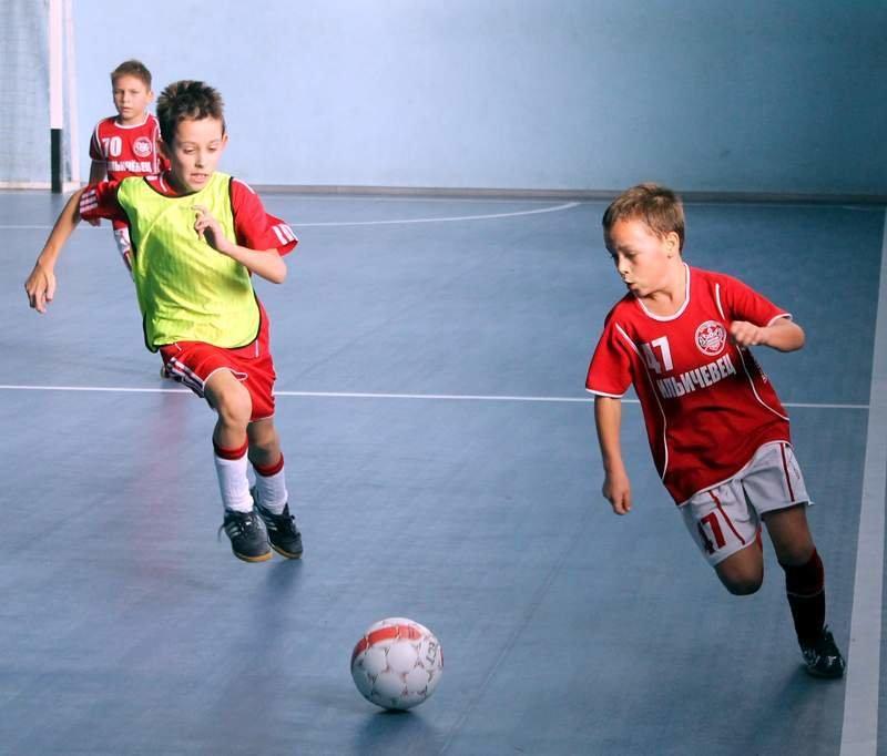 Мини футбол дети картинки