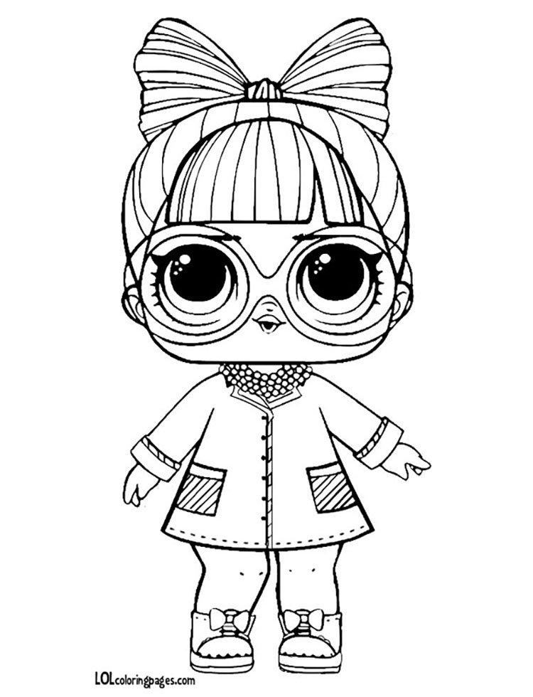 """""""Раскраски ЛОЛ раскраска LOL куклы разукрашки: распечатать ..."""