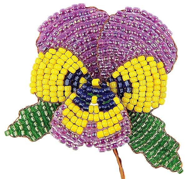 бисеры плетение картинка с цветами когда тело