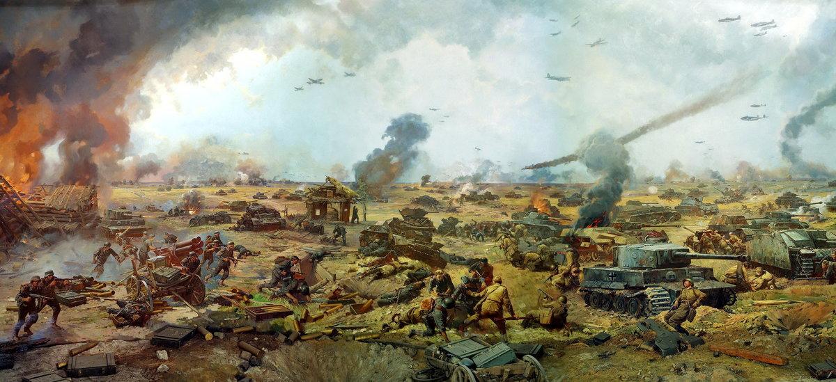 Днем, картинки курская битва