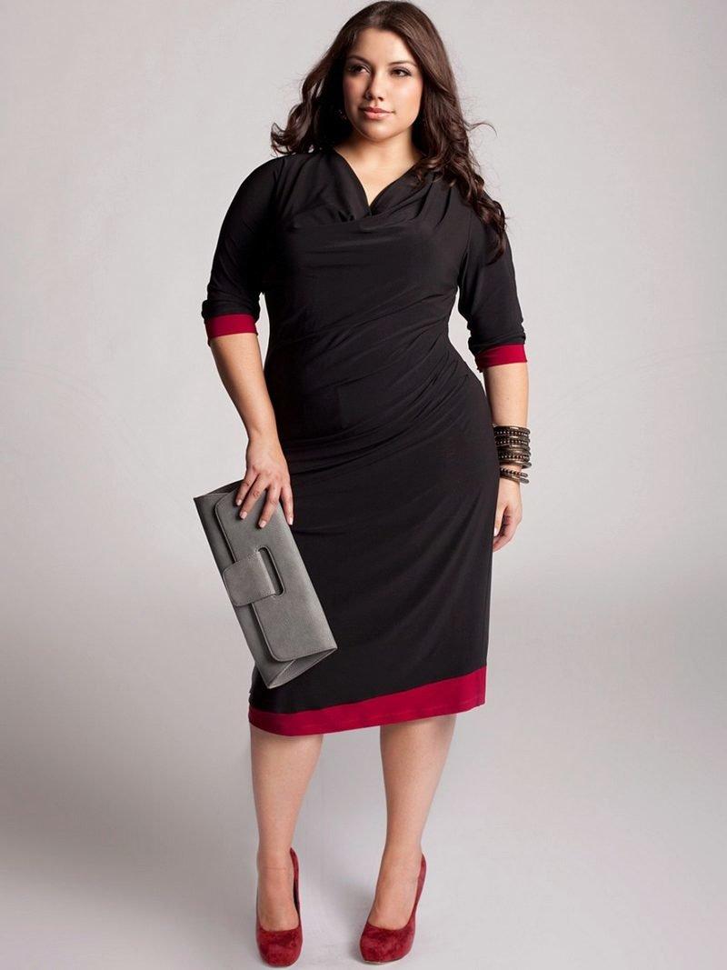 Модные платья 2019 для полных женщин и девушек