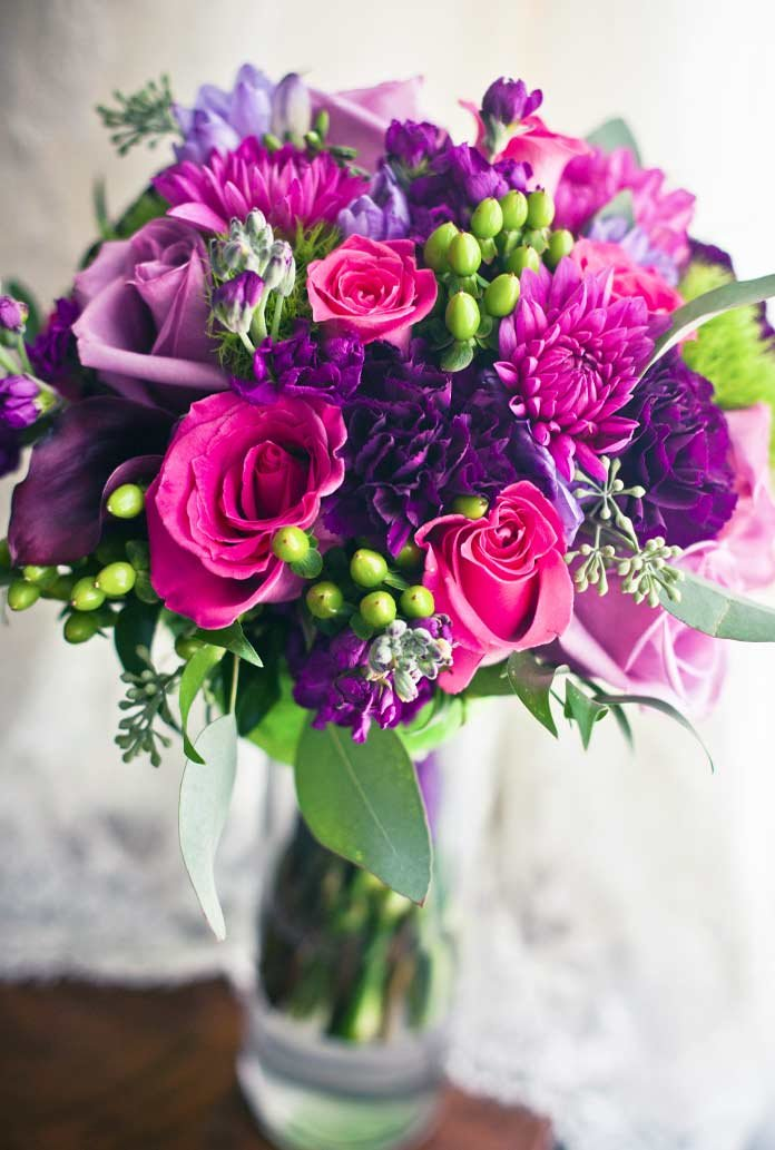 Фото красивые цветы букеты, утро