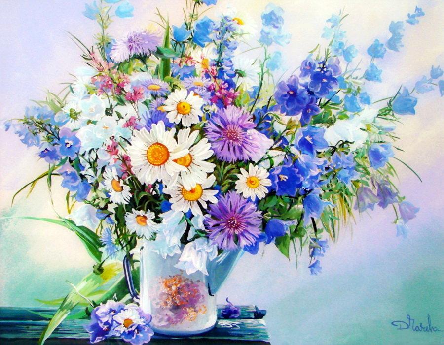 Открытка цветы летние, картинки пирсинг