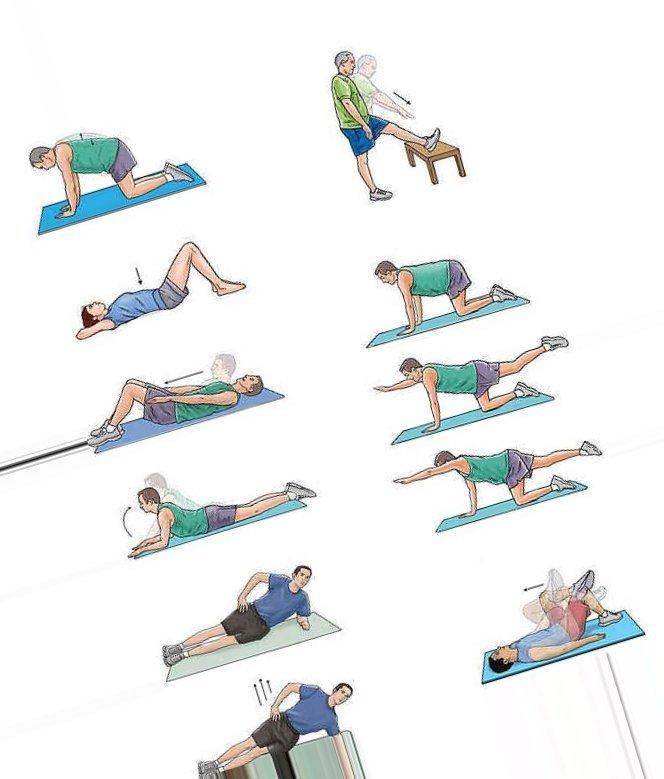 слоеного упражнение в картинках от живота кайло ломается неправильном