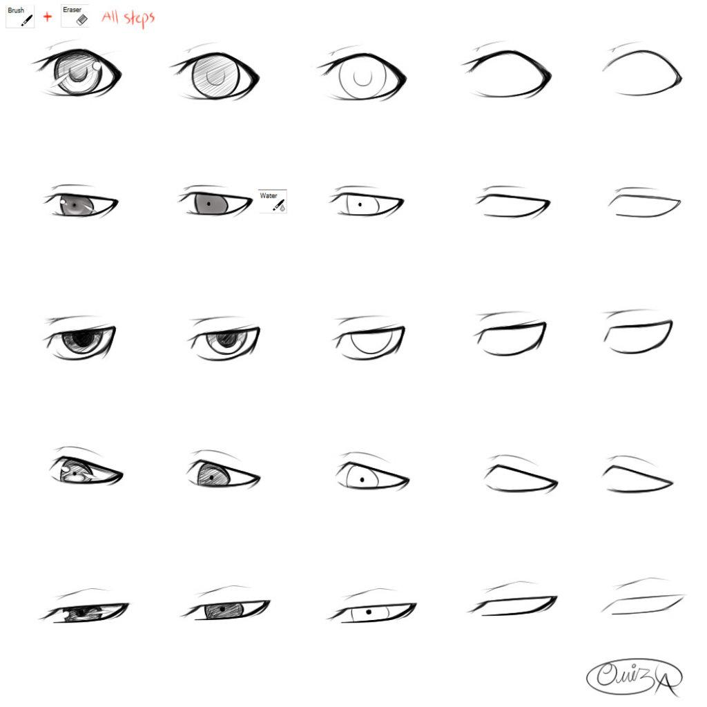 anime male eyes - HD1024×961