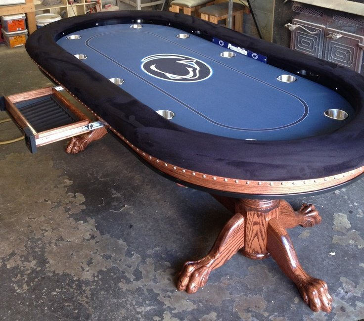 Superieur Custom Poker Tables Dallas Lion Bbo Table Cloth Uk