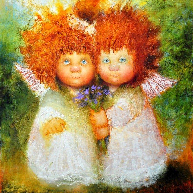 Картинки рыжеволосые ангелы