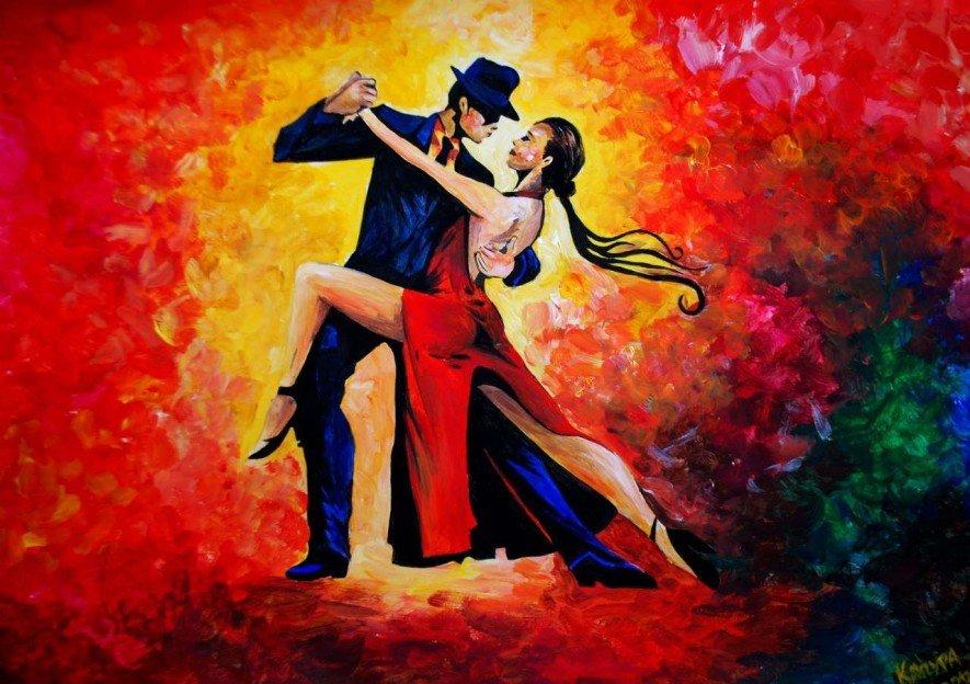 Открытки с танцующими танго, любви любимому
