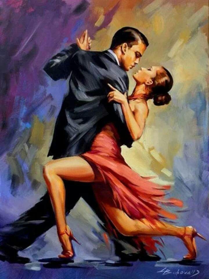 Стенку зал, танго картинки красивые нарисованные