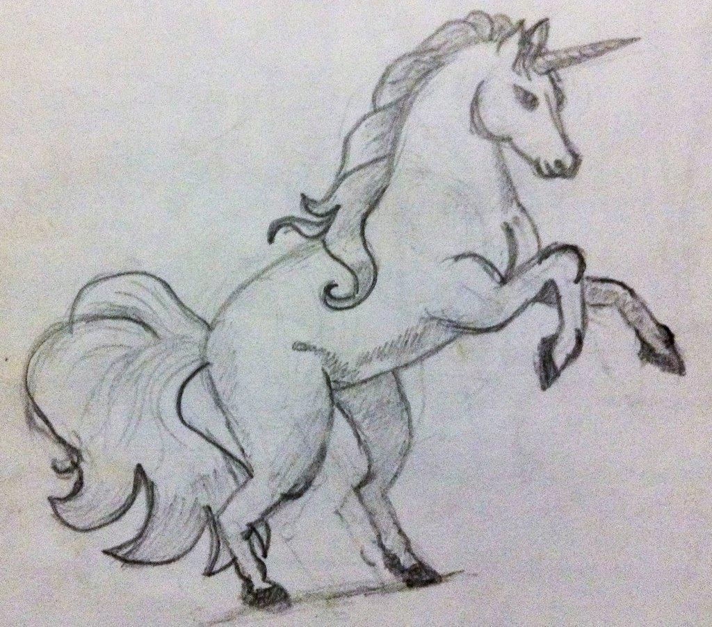 единорог картинки карандашом как нарисовать того, заключаем