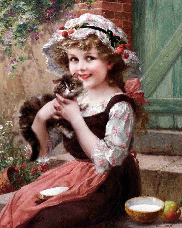 Набор открыток образы детей, для подруги картинка