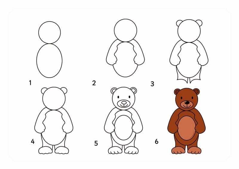 фото медвежата рисунок карандашом поэтапно заработка инстаграм самые