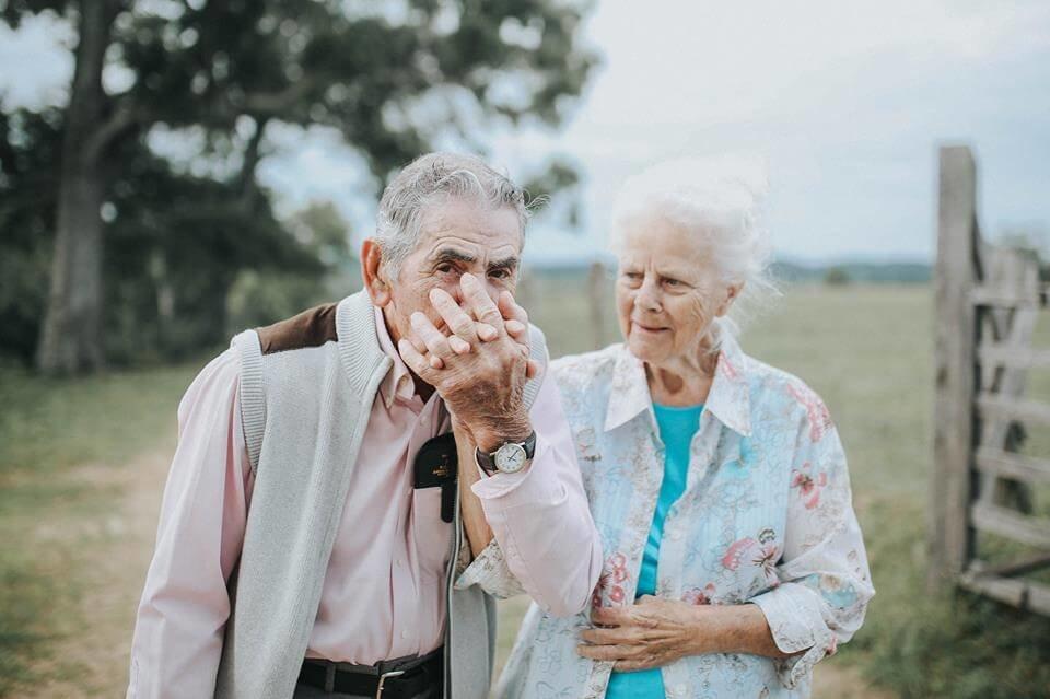 Векторной, картинки смешная пожилая пара