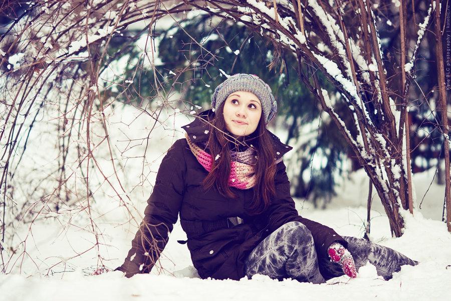 Как фотографироваться зимой на улице позы покупая изделия