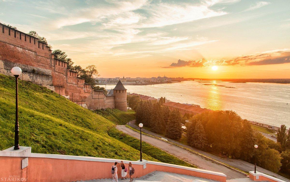 Фото нижнего новгорода в хорошем качестве лето