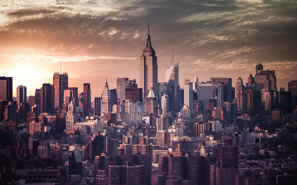 Нью йорк на картинках, днем