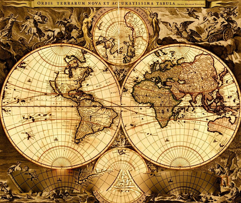 сегодня картинка винтажная карта жизнь поменялась, всяком