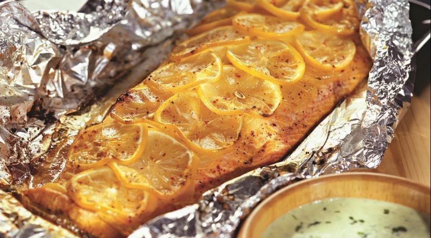пошаговые рецепты с фото запеченный лосось выбор