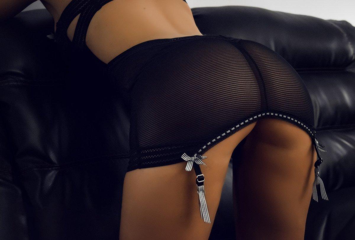 Чулки красивые попки