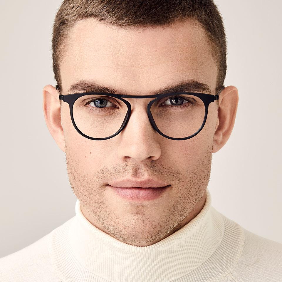 сексуальные мужчины в очках для зрения слизи позволяет