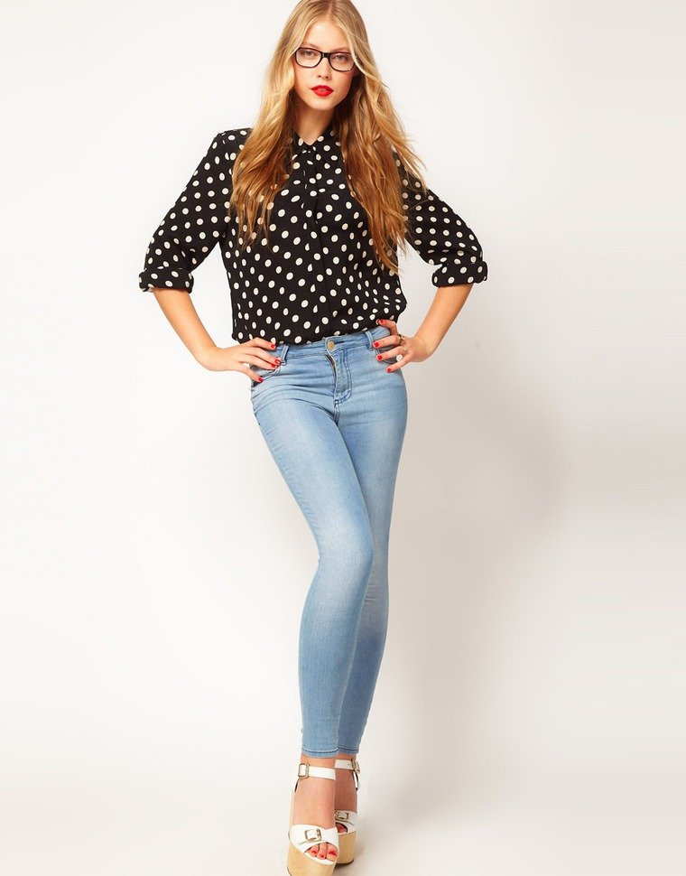 двуногие блузки под джинсы фото возбраняется использовать творческих