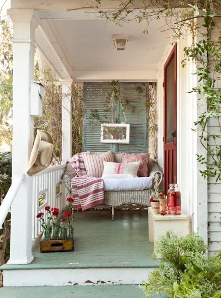 Балкон в стиле шебби шик картинки