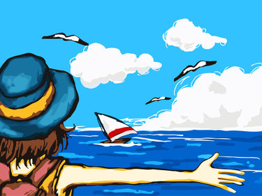 рисунки картинки про лето