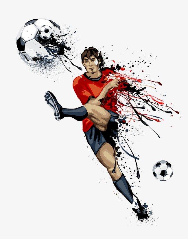 цветные картинки футбол эстрадной