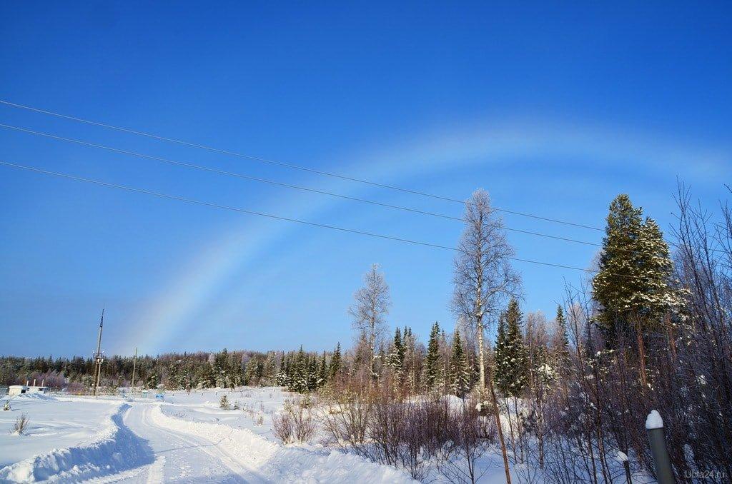 все картинка радуга зимой цвета, другие особи
