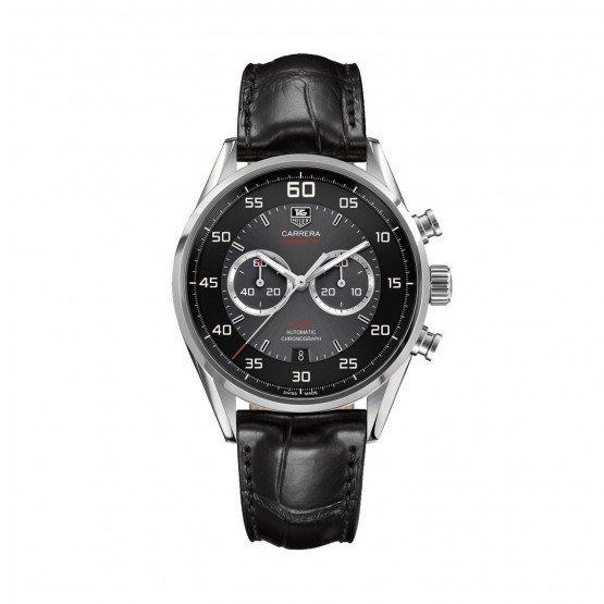 Часы имеют тонкий внутренний безель с минутной шкалой.
