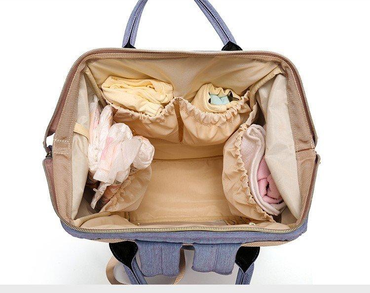 Рюкзак для мамы ABOUTBABY. Сумка рюкзак для мам - Скачать видео с Купить со  скидкой ca8b0faf4c7