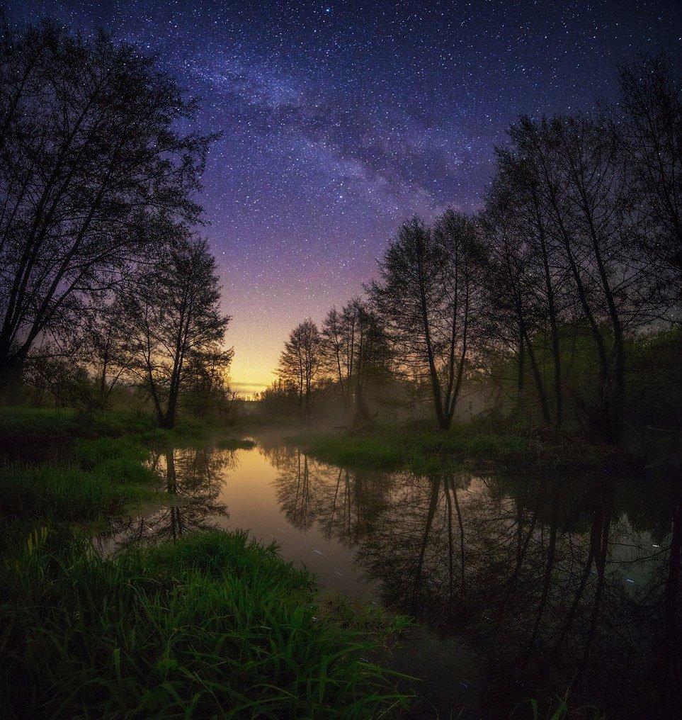 Ночь фото природы