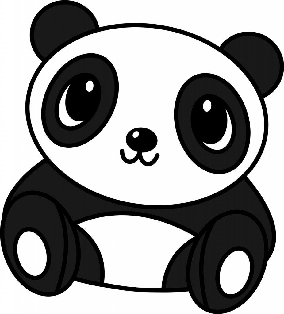 Картинки панды мультяшные