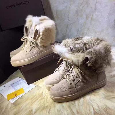 Сапоги зимние Louis Vuitton женские. Купить Высокие Сапоги Женские Зимние  Купить со скидкой -50 e99aecd149c