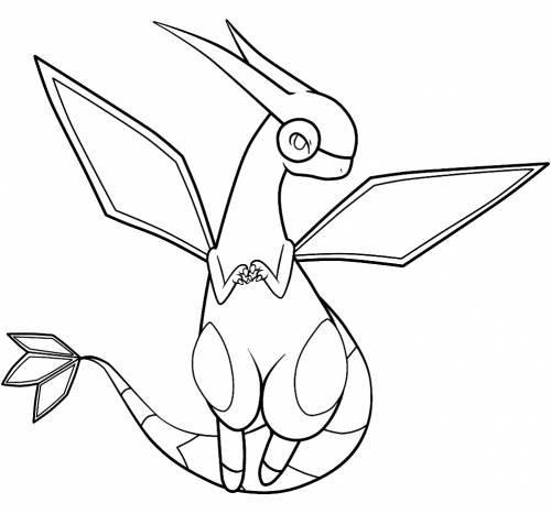 «Раскраска Покемон Флайгон» — карточка пользователя Srkaa5 ...