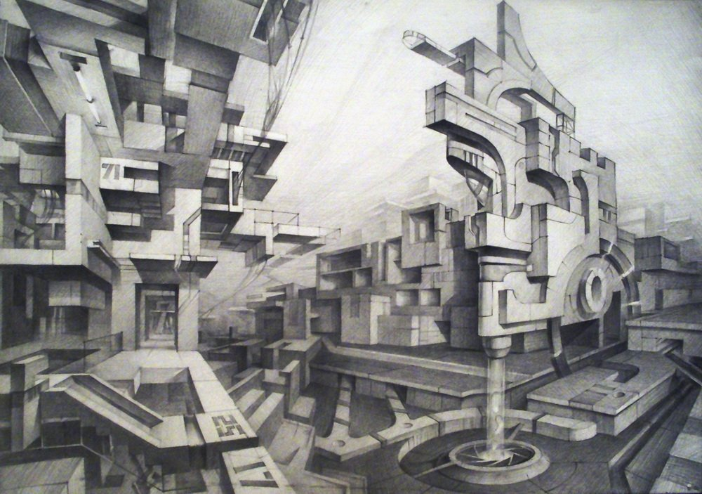 картинки города будущего из геометрических фигур семье