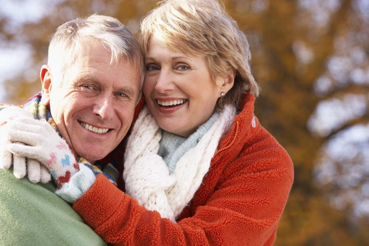 Открытки пожилым супругами