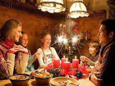 Праздничный ужин в сочельник