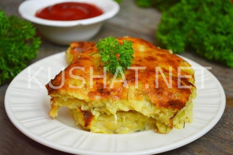 скачать запеканка кабачковая с помидорами и сыром Пожелания утро