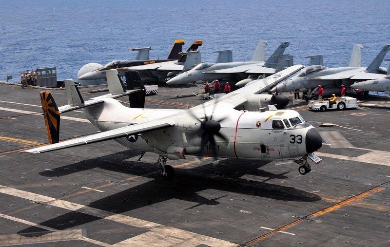 Osprey заменит палубные транспортные самолеты С-2А в ВМС США