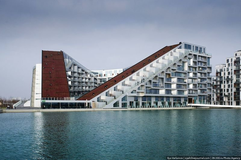 Жилой комплекс 8 HOUSE, Копенгаген