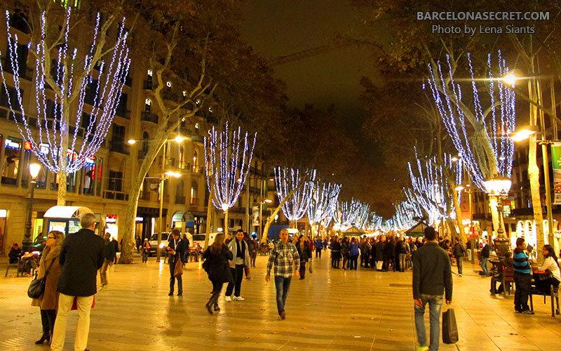 Новый Год в Барселоне Барселонские Рождество и Новый Год кажутся непривычными