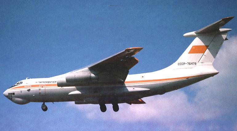 Самолет Ил-76ТД
