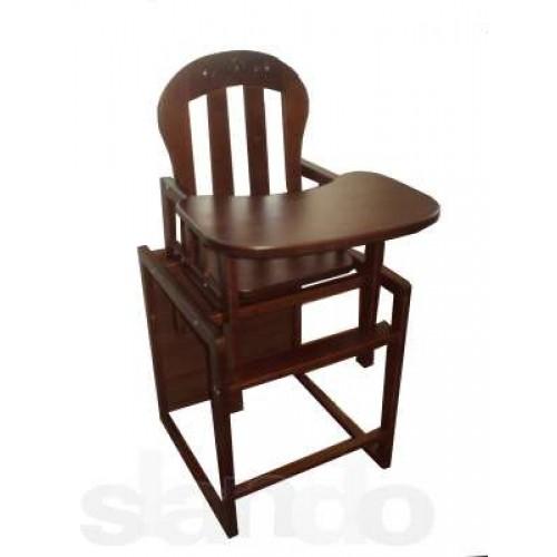 трия элегант детский деревянный стульчик для кормления карточка