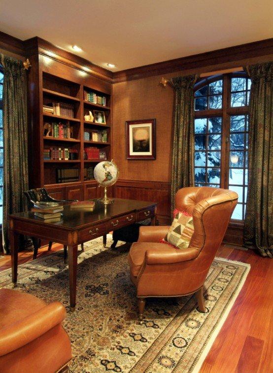 Классический домашний кабинет