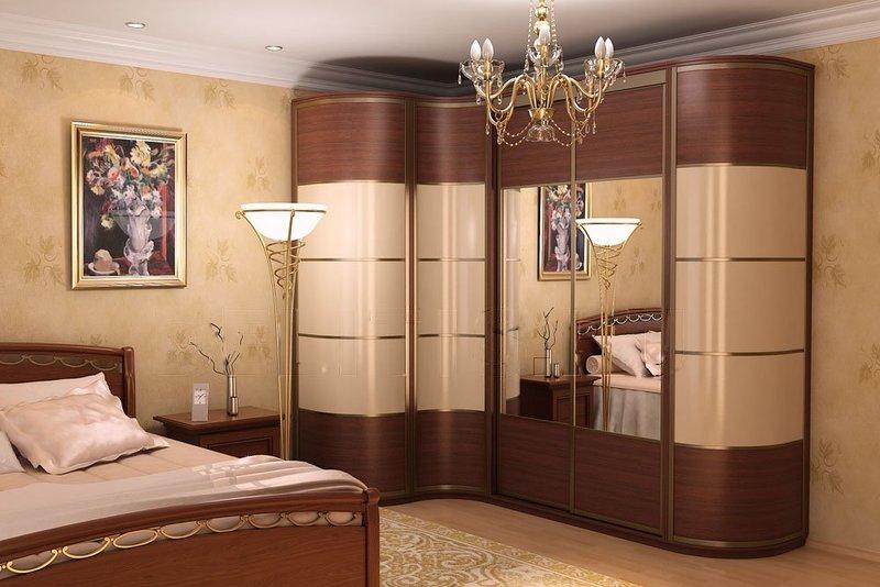 Обладателям небольших квартир угловой шкаф купе в спальню бу.